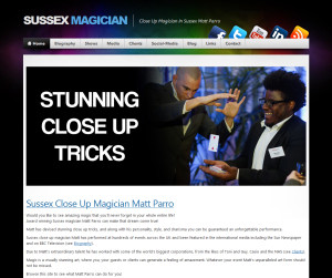 Sussex Magician Website Coming Soon