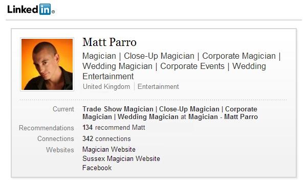 linkedin-magician-profile