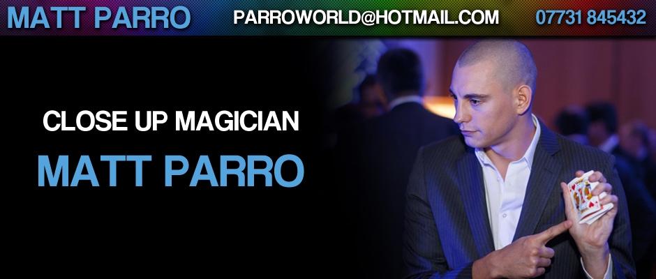 Matt Parro Close Up Magician
