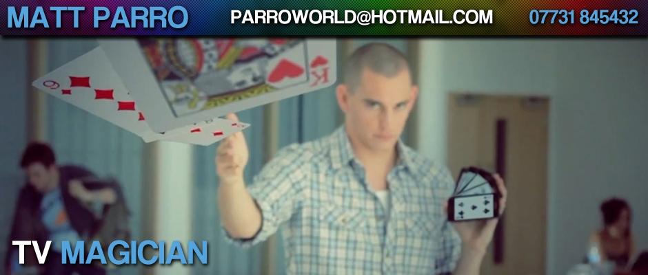 Matt Parro TV Magician