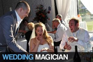 Wedding Magician Matt Parro